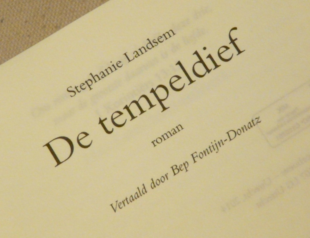 De tempeldief